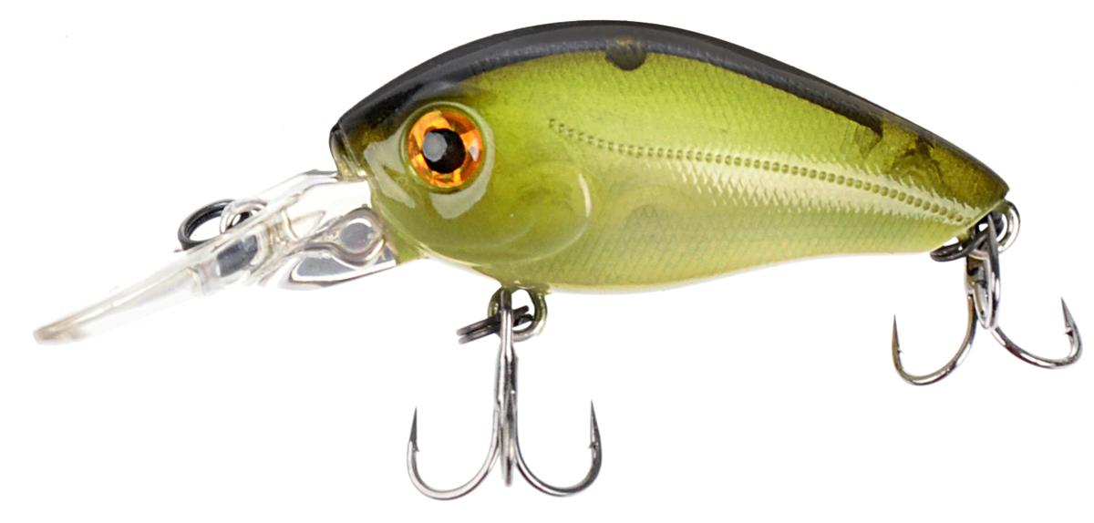 Воблер Tsuribito Baby Crank F-DR, цвет: темно-зеленый (082), длина 3,5 см, 3,3 г45764Приманка-воблер Tsuribito Baby Crank F-DR, выполненный из высококачественного пластика и металла,не сможет оставить равнодушными ни рыбу ни рыболовов. Небольшой размер и активная игра воблера вызывают отличный аппетит практически у всех обитателей водоемов.Воблер плавающего типа, отлично применяется на глубинных водоемах с заглубленностью от 1,5 до 1,8 м.