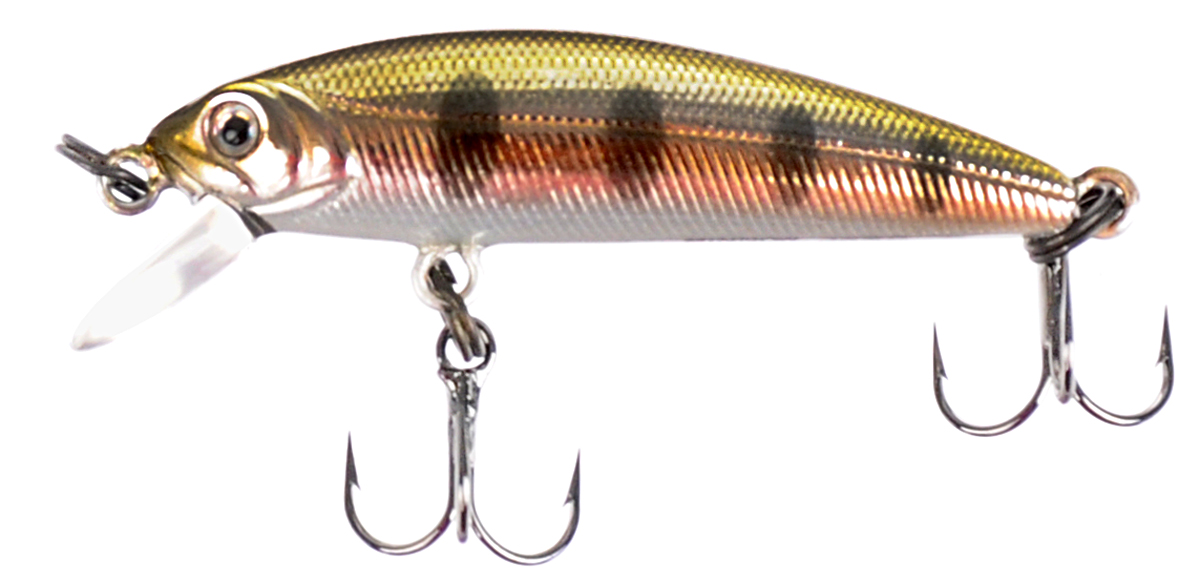 Воблер Tsuribito Minnow SS, цвет 053, 35 мм fishing floating minnow bass pike trout jointed minnow swimbait 130mm 39g