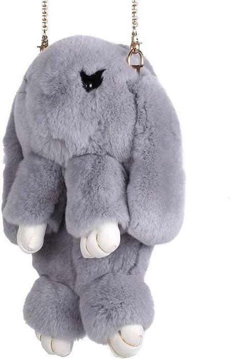 Рюкзак детский Пушистый кролик цвет серый -  Ранцы и рюкзаки