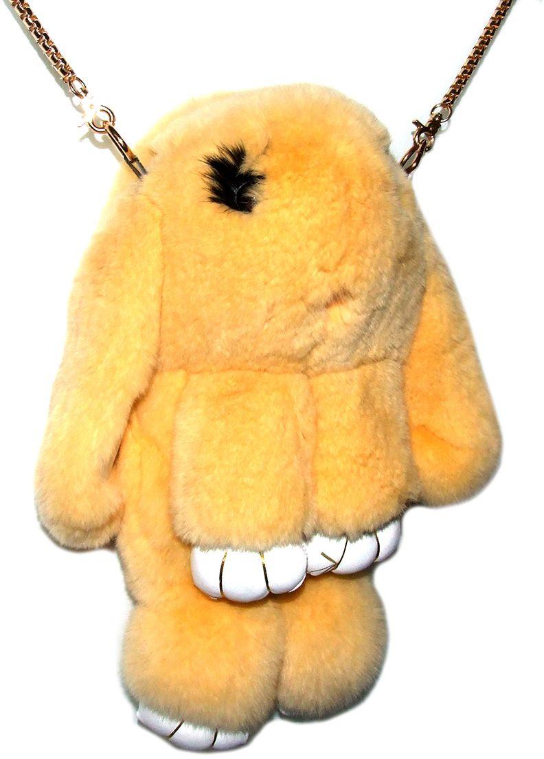 Рюкзак детский Пушистый кролик цвет персиковый -  Ранцы и рюкзаки