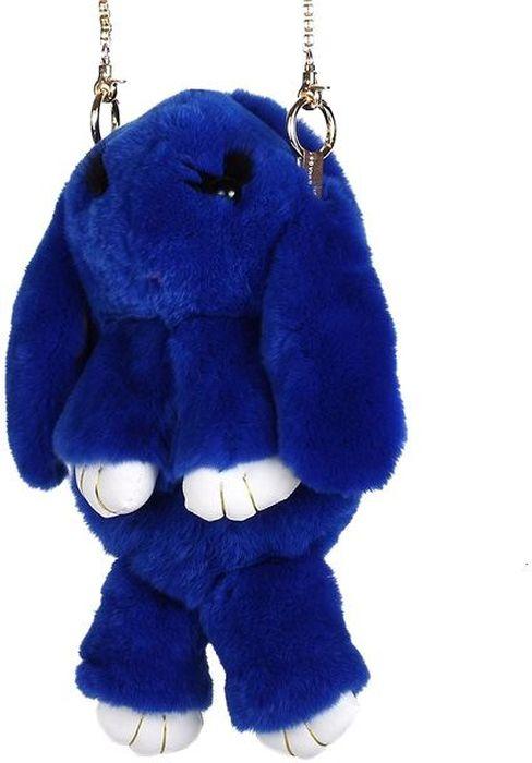 Рюкзак детский Пушистый кролик цвет синийРК-511Рюкзак / Сумка в виде красивого пушистого зайчика из натурального кроличьего меха является отличным способом выделиться и подчеркнуть свою индивидуальность и хороший вкус. Такую сумочку можно носить через плечо, а продев металлический ремешок через среднее кольцо-держатель, сумочка превращается в рюкзак.При прикосновении к такому аксессуару обладатель попадает в мир великолепной нежности. Очень мягкий на ощупь мех красивого цвета разнообразит современный гардероб, а также сделает образ полностью завершенным. Такой рюкзак не оставит обладателя равнодушным и без пристального внимания со стороны окружающих!Лапки кролика и обратная сторона ушек сделаны из эко-кожи, а так же лапки кролика сшиты качественной нитью.Такая пушистая сумочка идеально подойдет в качестве подарка как маленькой девочке, юной моднице, так и взрослой женщине.