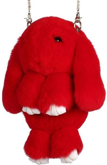 Рюкзак-сумка детский Пушистый кролик цвет красныйРК-512Рюкзак-сумка в виде красивого пушистого кролика из натурального кроличьего меха является отличным способом выделиться и подчеркнуть свою индивидуальность и хороший вкус. Такую сумочку можно носить через плечо, а продев металлический ремешок через среднее кольцо-держатель, сумочка превращается в рюкзак.При прикосновении к такому аксессуару обладатель попадает в мир великолепной нежности. Очень мягкий на ощупь мех красивого цвета разнообразит современный гардероб, а также сделает образ полностью завершенным. Такой рюкзак не оставит обладателя равнодушным и без пристального внимания со стороны окружающих!Лапки кролика и обратная сторона ушек сделаны из эко-кожи, а так же лапки кролика сшиты качественной нитью.Такая пушистая сумочка идеально подойдет в качестве подарка как маленькой девочке, юной моднице, так и взрослой женщине.