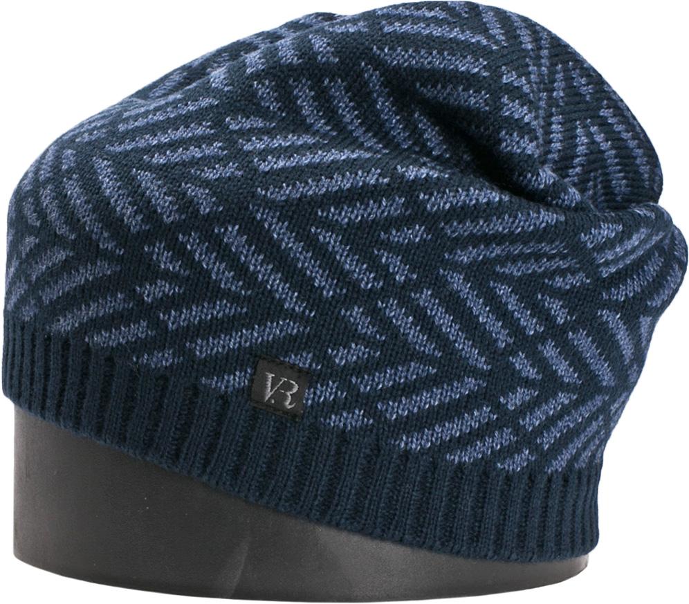Шапка мужская Vittorio Richi, цвет: темно-синий, джинсовый. NSH900321. Размер 56/58NSH900321Стильная мужская шапка Vittorio Richi отлично дополнит ваш образ в холодную погоду. Модель, изготовленная из шерсти с добавлением акрила, максимально сохраняет тепло и обеспечивает удобную посадку. Шапка дополнена геометрическим принтом и сбоку фирменной нашивкой. Модная шапка подчеркнет ваш неповторимый стиль и индивидуальность.