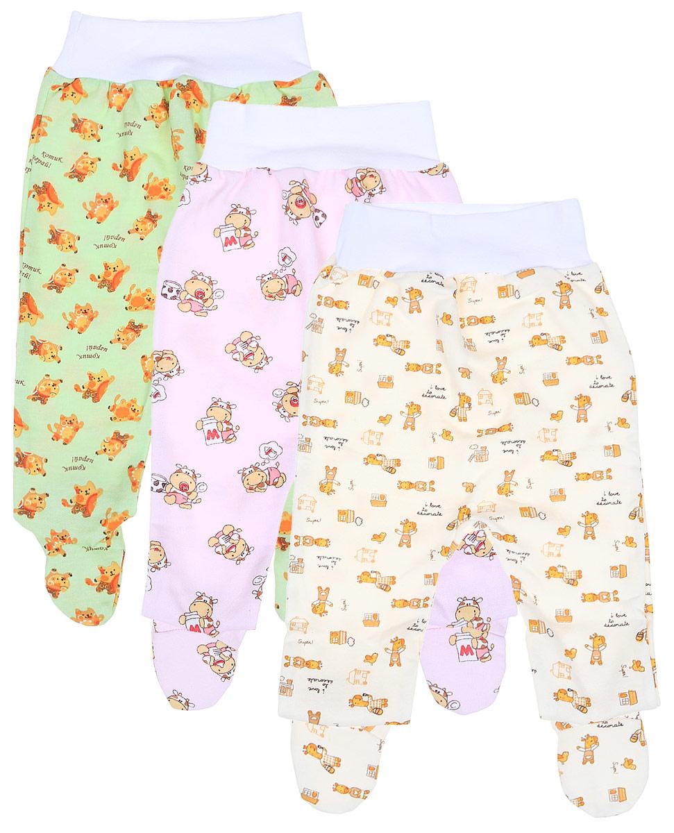 Ползунки для девочки Фреш стайл, цвет: салатовый,белый, розовый, 3 шт. 21-518д. Размер 68, 6 месяцев21-518дКомплект Фреш Стайл состоит из трех ползунков с закрытыми ножками для девочки.Ползунки послужат идеальным дополнением к гардеробу малышки, обеспечивая ей наибольший комфорт. Изготовленные из натурального хлопка, они необычайно мягкие и легкие, не раздражают нежную кожу ребенка и хорошо вентилируются, а эластичные швы приятны телу малыша и не препятствуют его движениям. Ползунки дополнены мягкой резинкой, не сдавливающей животик ребенка. Украшены ползунки яркими оригинальными рисунками. Оригинальный дизайн и яркая расцветка делают эти ползунки модным и стильным предметом детского гардероба. В них вашей малышке всегда будет комфортно и уютно. УВАЖАЕМЫЕ КЛИЕНТЫ!Обращаем ваше внимание на тот факт, что товар поставляется в цветовом ассортименте. Поставка осуществляется в зависимости от наличия на складе.