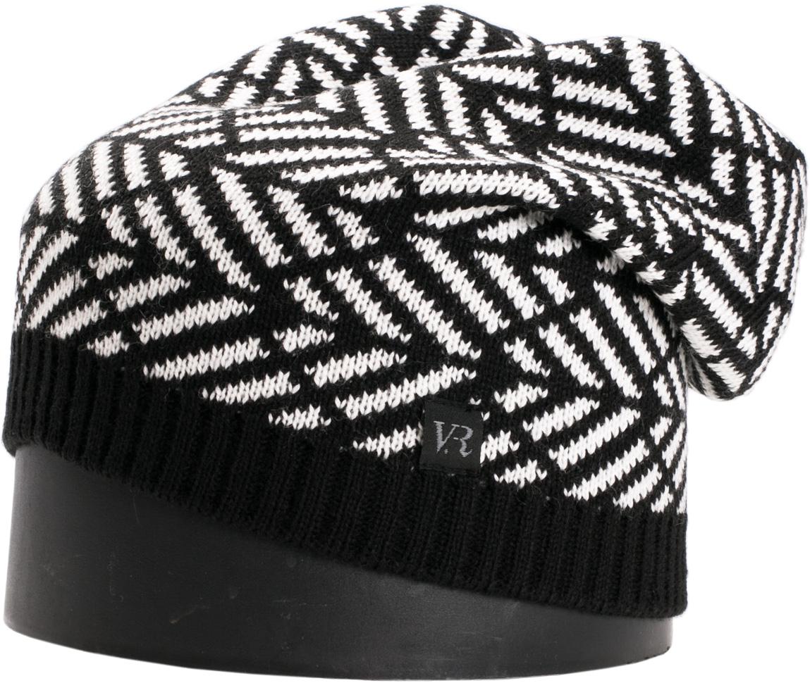 Шапка мужская Vittorio Richi, цвет: черный, белый. NSH900319. Размер 56/58NSH900319Стильная мужская шапка Vittorio Richi отлично дополнит ваш образ в холодную погоду. Модель, изготовленная из шерсти с добавлением акрила, максимально сохраняет тепло и обеспечивает удобную посадку. Шапка дополнена геометрическим принтом и сбоку фирменной нашивкой. Модная шапка подчеркнет ваш неповторимый стиль и индивидуальность.