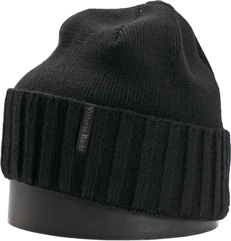 Шапка мужская Vittorio Richi, цвет: черный. NSH140701. Размер 56/58NSH140701Стильная мужская шапка Vittorio Richi отлично дополнит ваш образ в холодную погоду. Модель, изготовленная из шерсти с добавлением акрила, максимально сохраняет тепло и обеспечивает удобную посадку. Шапка дополнена сбоку фирменной нашивкой. Модная шапка подчеркнет ваш неповторимый стиль и индивидуальность.
