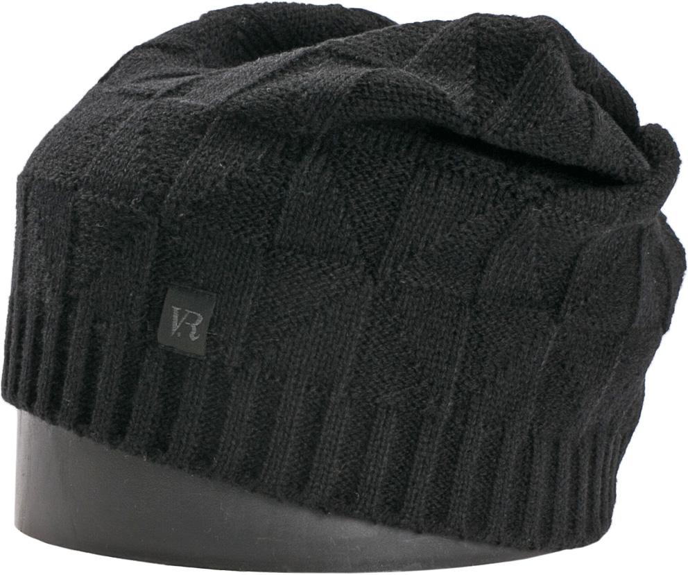 Шапка мужская Vittorio Richi, цвет: черный. NSH463001. Размер 56/58NSH463001Стильная мужская шапка Vittorio Richi отлично дополнит ваш образ в холодную погоду. Модель, изготовленная из шерсти с добавлением акрила, максимально сохраняет тепло и обеспечивает удобную посадку. Шапка дополнена ажурной вязкой и сбоку фирменной нашивкой. Модная шапка подчеркнет ваш неповторимый стиль и индивидуальность.