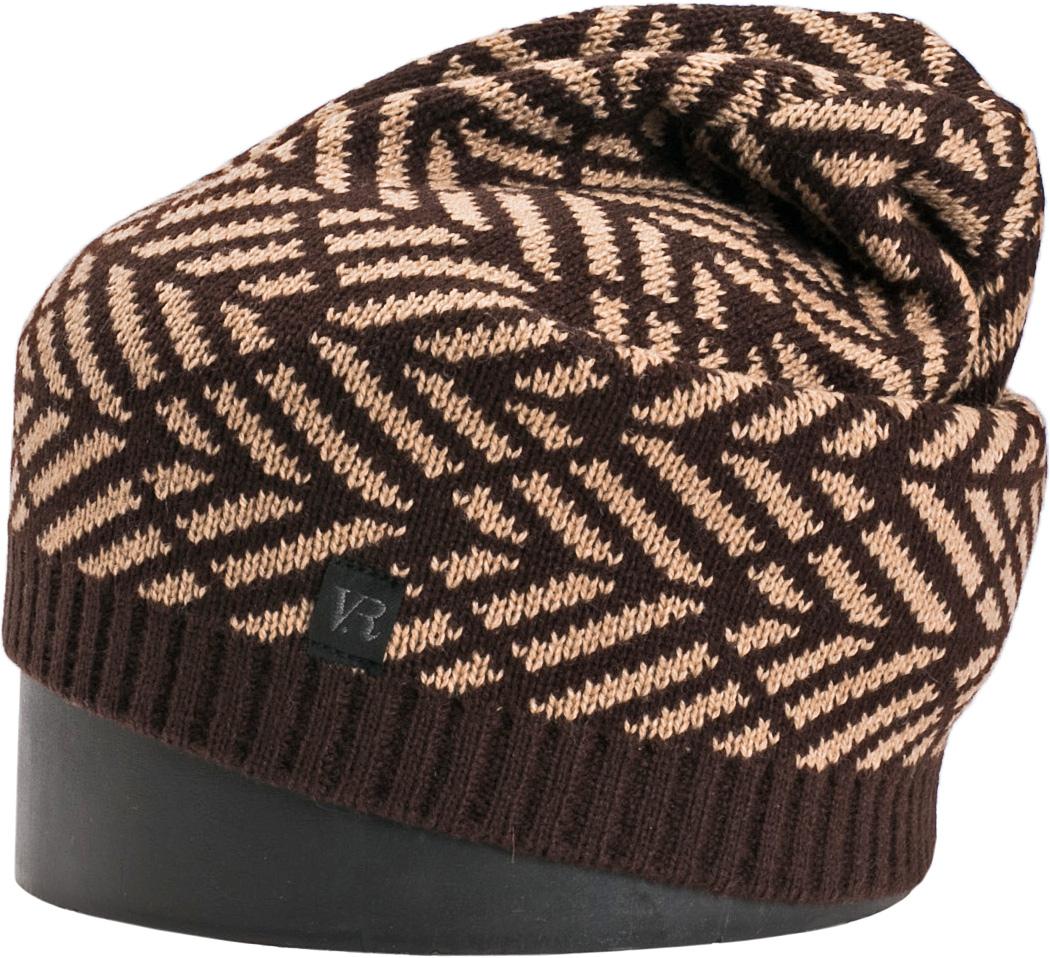 Шапка мужская Vittorio Richi, цвет: шоколад, бежевый. NSH900320. Размер 56/58NSH900320Стильная мужская шапка Vittorio Richi отлично дополнит ваш образ в холодную погоду. Модель, изготовленная из шерсти с добавлением акрила, максимально сохраняет тепло и обеспечивает удобную посадку. Шапка дополнена геометрическим принтом и сбоку фирменной нашивкой. Модная шапка подчеркнет ваш неповторимый стиль и индивидуальность.