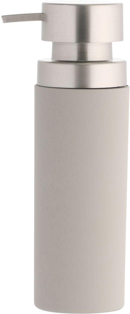 Диспенсер для мыла Axentia Lena, 6,5 х 6,5 х 21 см126781Диспенсер для мыла Axentia Lena - незаменимый аксессуар для тех, кто ценит чистоту своей раковины и экономный расход мыла. Изделие выполнено из софт-тач пластика. Дозатор из нержавеющей стали позволяет легко выдавливать нужное количество жидкого мыла. Такой диспенсер станет отличным дополнением ванной комнаты. Диаметр: 6,5Высота: 21 смОбъем: 350 мл.