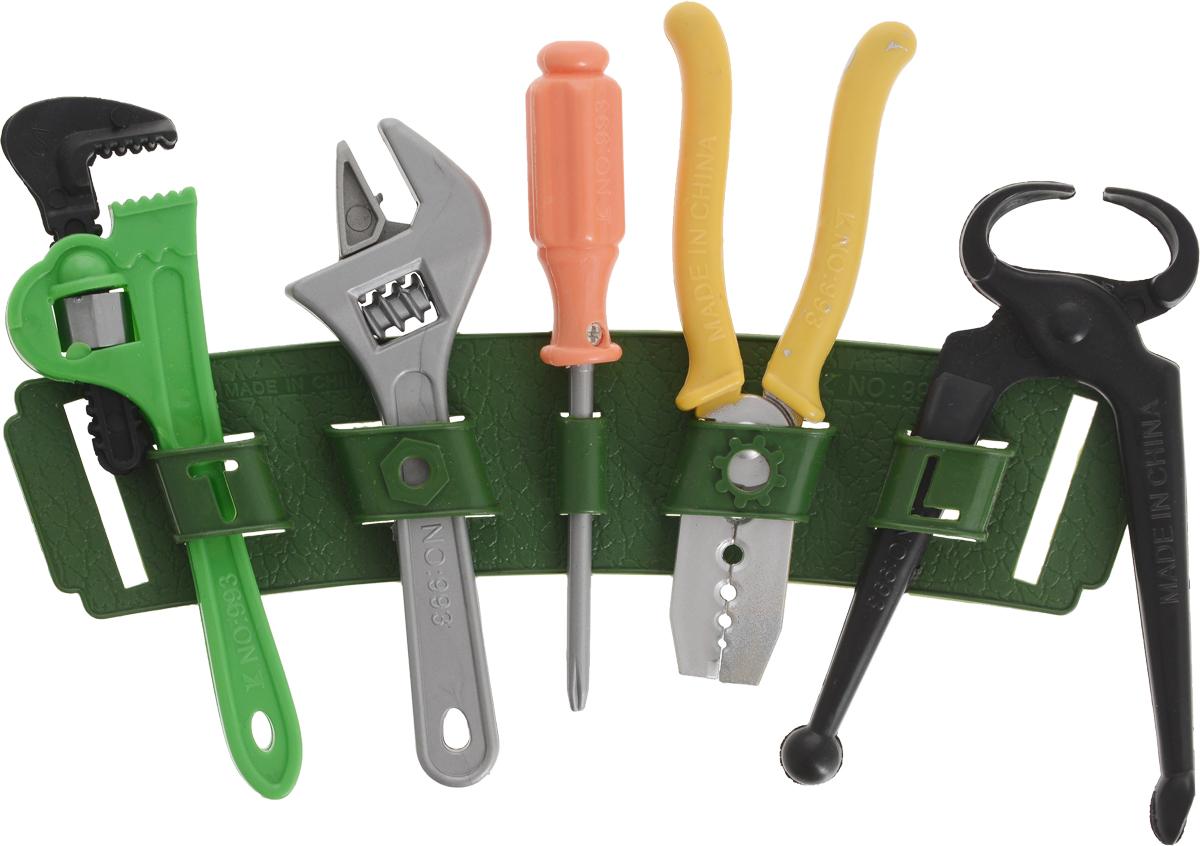 JRX Набор игрушечных инструментов Рабочий №2 сумка пояс для инструментов