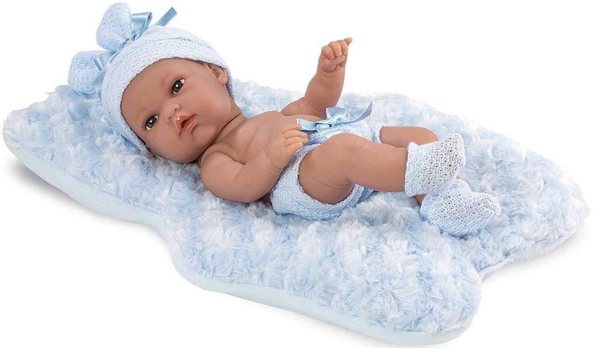Arias Пупс Elegance цвет одежды голубой Т11064 arias пупс цвет платья белый розовый 42 см т59289