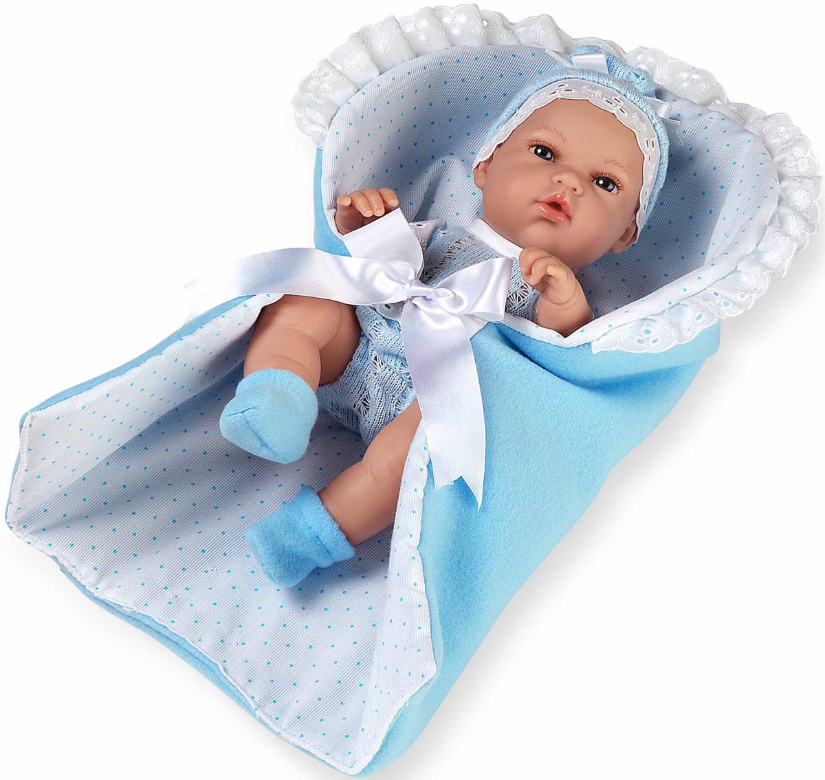 Arias Пупс Elegance цвет конверта голубой Т11069 arias пупс цвет платья белый розовый 42 см т59289