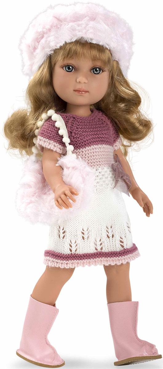 Arias Кукла Elegance в платье шапочке ботиночках с сумочкой Т11073 - Куклы и аксессуары