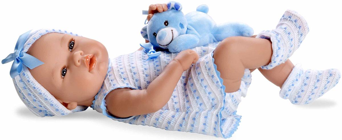 Фото Arias Пупс Elegance с игрушкой цвет одежды голубой Т11096