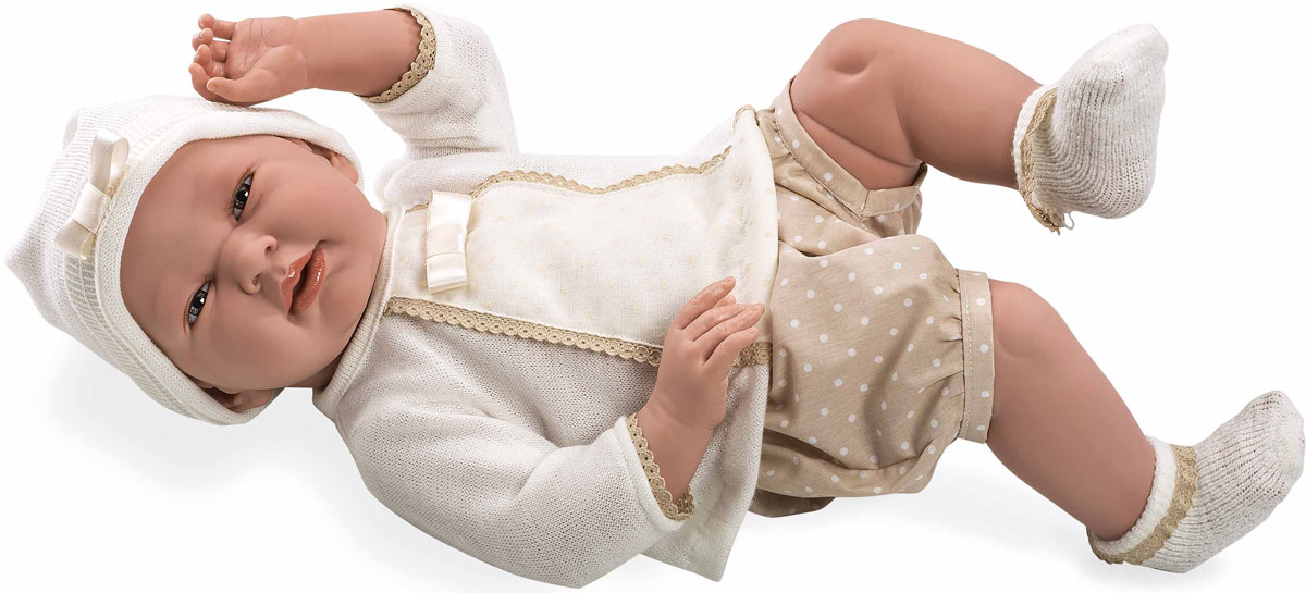 Arias Пупс Elegance цвет одежды бежевый Т11124 arias кукла клоун 38 см т59774