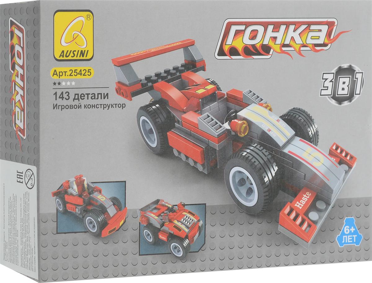 Ausini Конструктор Гоночная машина 3 в 1 143 элемента ausini конструктор гонки 3 в 1 25420