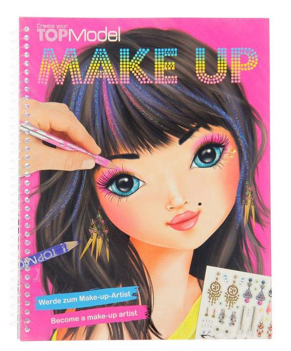Top Model: Make Up. Раскраска (+ наклейки)