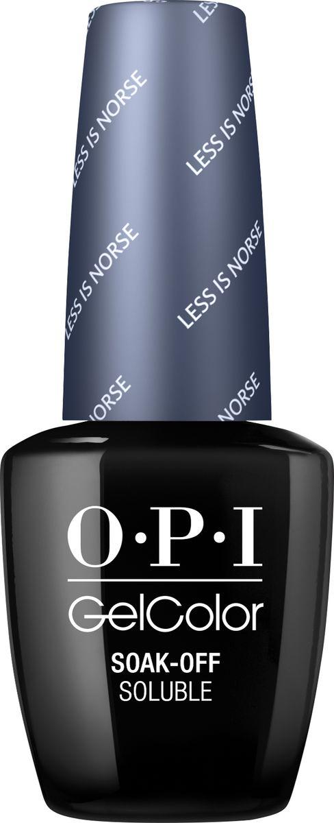 OPI Гель-лак для ногтей GelColor Less is Norse, 15 млGCI59Gelcolor - это 100% гель в лаковом флаконе! В отличие от гелей-лаков из-за отсутствия лаковой составляющей Gelcolor не подвержен сколам и трещинам. Ультра-быстрое светоотверждение в LED-лампе OPI! Всего лишь 4 минуты на закрепление всех слоев включая базу и финальное покрытие на всех пальцах! Не требует шлифовки ногтей перед нанесением и опиливания при снятии, а значит не травмирует ногти! Снимается за 15 минут отмачиванием. Gelcolor экономичен. Gelcolor - это высочайшее качество OPI по доступной цене. Оттенки легендарных лаков OPI при желании можно наносить поверх Gelcolor. Стойкое и сияющее покрытие на несколько недель с помощью Gelcolor!
