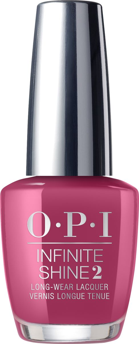 OPI Лак для ногтей Infinite Shine Aurora Berry-Alis, 15 мл opi лак для ногтей linger over coffee infinite shine 15мл