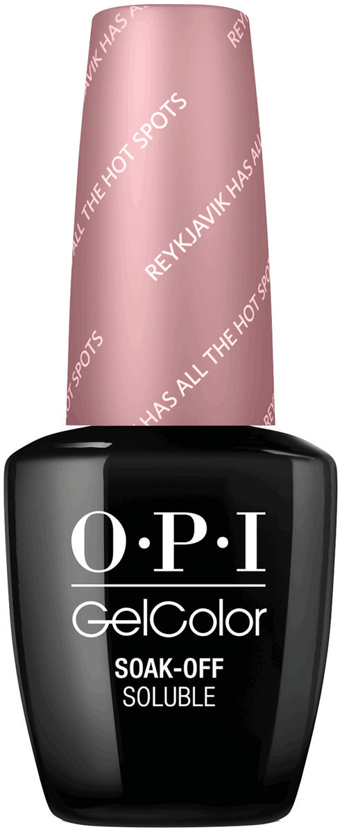 OPI Гель-лак для ногтей GelColor Reykjavik Has All the Hot Spots, 15 мл opi gelcolor гель лак i sea you wear opi gca73