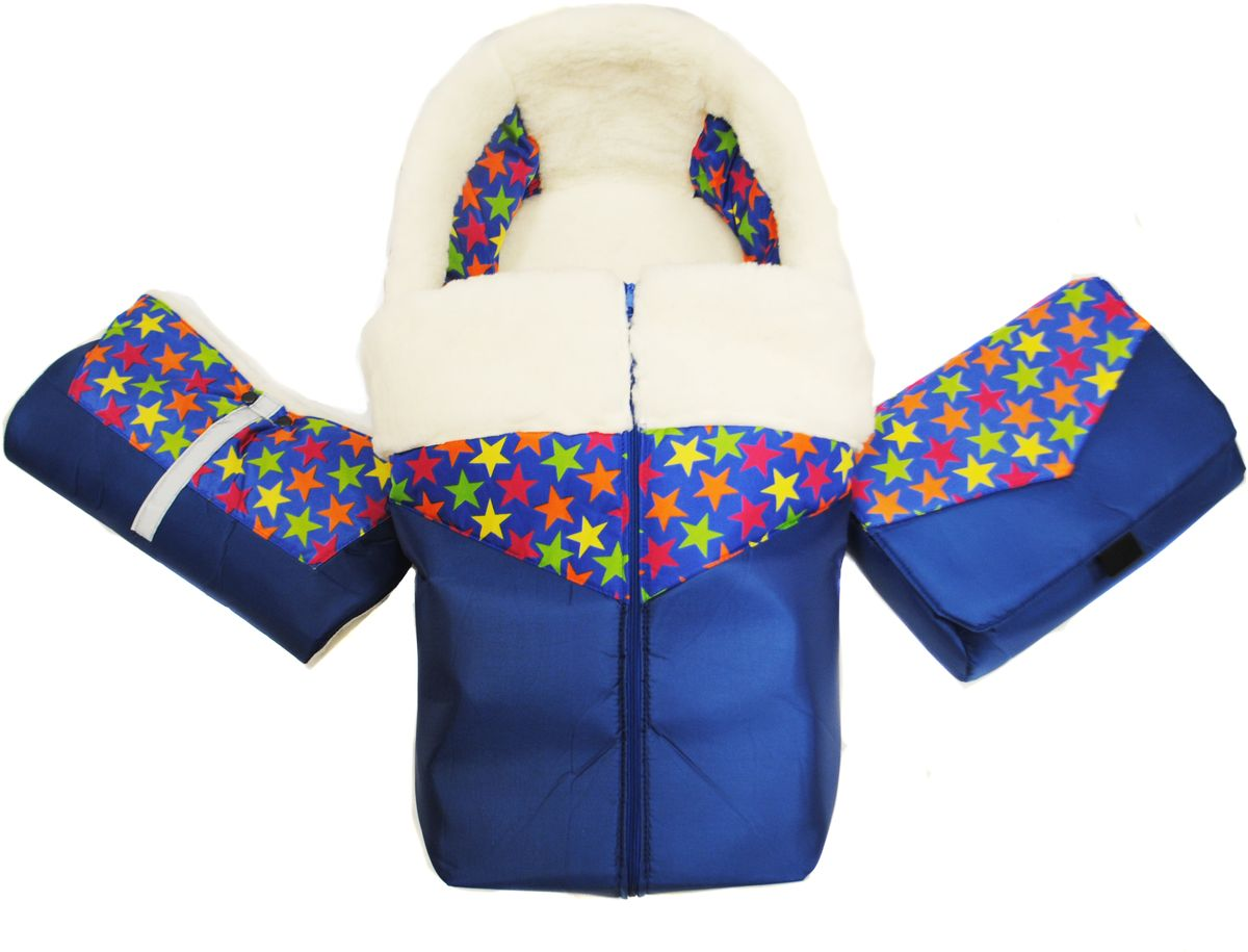 Русские Игрушки Комплект аксессуаров для санимобиля цвет синий17743Комплект мягких аксессуаров состоит из 4 элементов: меховой матрас, попона для ног, муфта для рук и сумка. Меховой матрас с попоной для ног очень хорошо защитит вашего ребенка от холода и влаги. Мех, используемый в данных изделиях, состоит на 50% из натуральной овчины.Матрас изготовлен в четком соответствии с формой сиденья и спинки санимобиля, и имеет специальные прорези для ремня безопасности. Для надежной защиты от холода в матрас вшит натуральный войлок из валяной овечьей шерсти.Попона для ног изготовлена из водонепроницаемой ткани, меха и плотной подкладочной ткани. Для удобства использования попона для ног также оснащена молнией. Попона для ног может пристегиваться к матрасу посредством контактной ленты (липучки).Муфта для рук, внутри полностью состоящая из меха, закрепляется на толкатель (ручку) и служит для защиты рук от холода, везущего санки человека.Сумка также пристегивается к толкателю санимобиля с помощью специальных креплений и имеет внутри карман и специальное отделение для бутылочки.Все аксессуары изготовлены в соответствии с ГОСТ.Санимобиль приобретается отдельно.