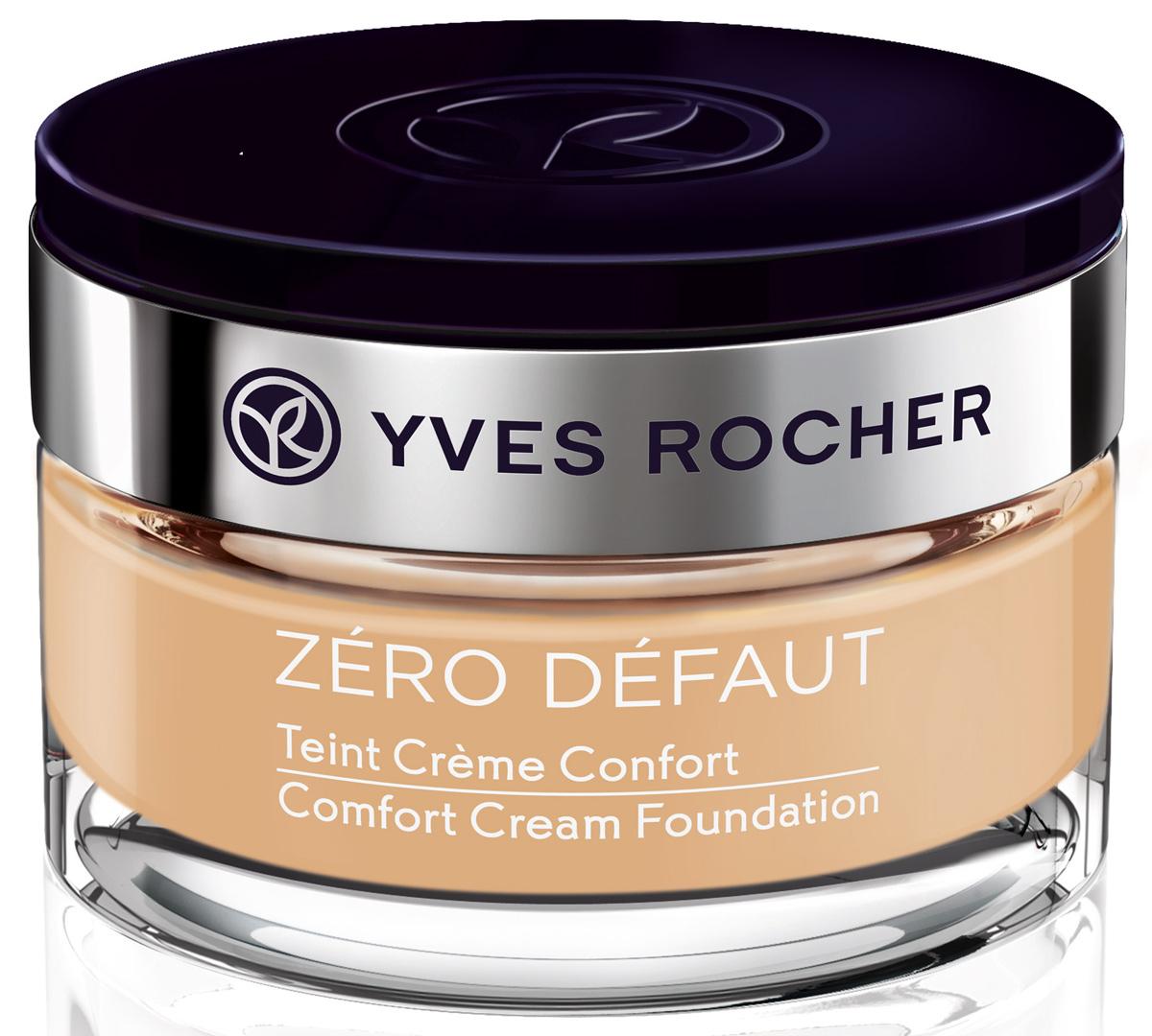 Yves Rocher тональный крем комфорт Ноль недостатков, бежевый 100, 40 мл тональный крем комфорт 40 мл yves rocher тональный крем комфорт 40 мл
