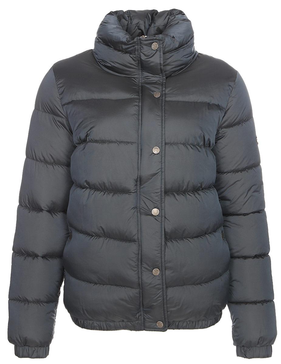 Куртка женская Grishko, цвет: синий. AL - 3291. Размер 42AL - 3291Суперстильная молодежная куртка с прорезными карманами на молниях и высоким широким воротником. Рукава на резинках. Утеплитель - 100% микрофайбер. Микрофайбер - это утеплитель нового поколения, который отличается повышенной теплоизоляцией, антибактериальными свойствами, долговечностью в использовании, необычайно легок в носке и уходе. Изделия легко стираются в машинке, не теряя первоначального внешнего вида. Комфортная температура носки до минус 10 градусов.
