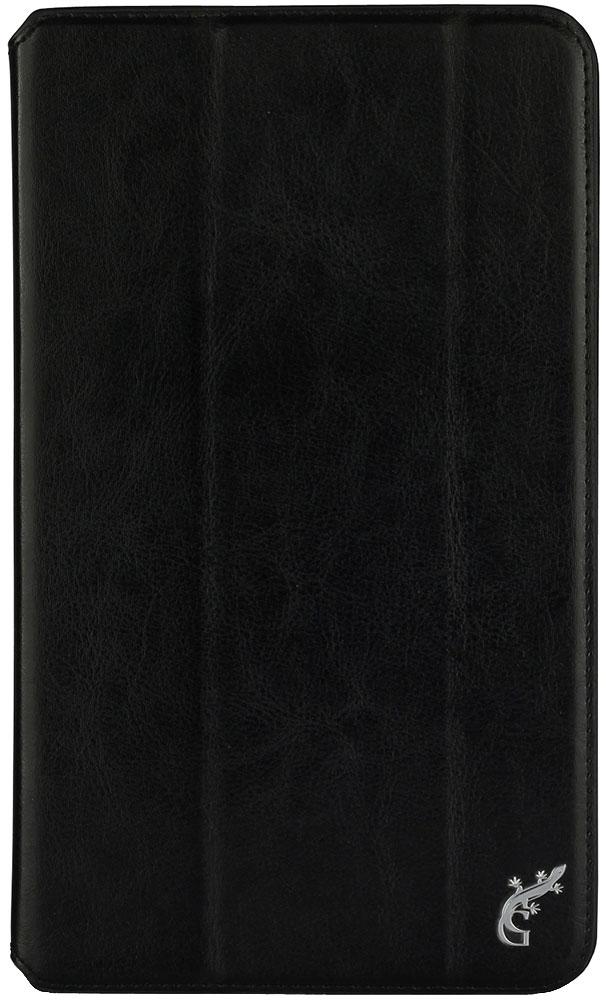 G-Case Executive чехол для Huawei MediaPad M3 Lite 8.0, BlackGG-849Чехол G-Case Executive для Huawei MediaPad M3 Lite 8.0 предохраняет планшет от падений и ударов во время путешествий. Изделие отлично справляется с защитой дисплея и корпуса от царапин, потертостей, пыли, влаги и грязи благодаря плотному прилеганию, а натуральный высококачественный материал амортизирует силу удара при случайном падении. В конструкции чехла оставлены в свободном доступе все необходимые разъемы, порты, кнопки и клавиши. Для съемки видео и фотографий предусмотрено специальное отверстие для камеры. Тонкая конструкция не увеличивает зрительно размеров планшета. Чехол также выполняет функцию поставки для удобства просмотра фильмов или чтения книг в пути.