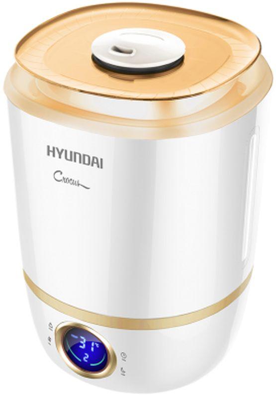 Hyundai H-HU1Е-4.0-UI045 увлажнитель воздухаH-HU1Е-4.0-UI045Hyundai H-HU1Е-4.0-UI045 увлажнитель воздуха это:Сенсорная панель управления I-TouchБольшая емкость бака: 4 литраПроизводительность по увлажнению 300 мл/чРeгулировка направления потока пара: поворотный носик на 360°Автоматическое уменьшение яркости дисплеяБоковое «окно» из прозрачного пластика для визуализации уровня воды в бакеТаймер на отключение до 12 часовДо 13 часов непрерывной работы на максимальной мощностиУдобная ручка резервуары воды для переноскиПодсветка внутри резервуараБесшумная работа для комфортного использования во время сна и отдыха