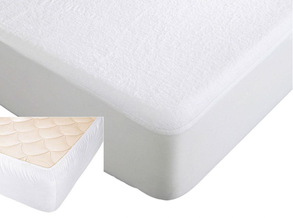 Наматрасник Хлопковый Край, цвет: белый, 120 х 200 см120Caress-НМНаматрасник водонепроницаемый с резинкой по периметру для матрасов высотой до 25 см. Размер 120*200 см.