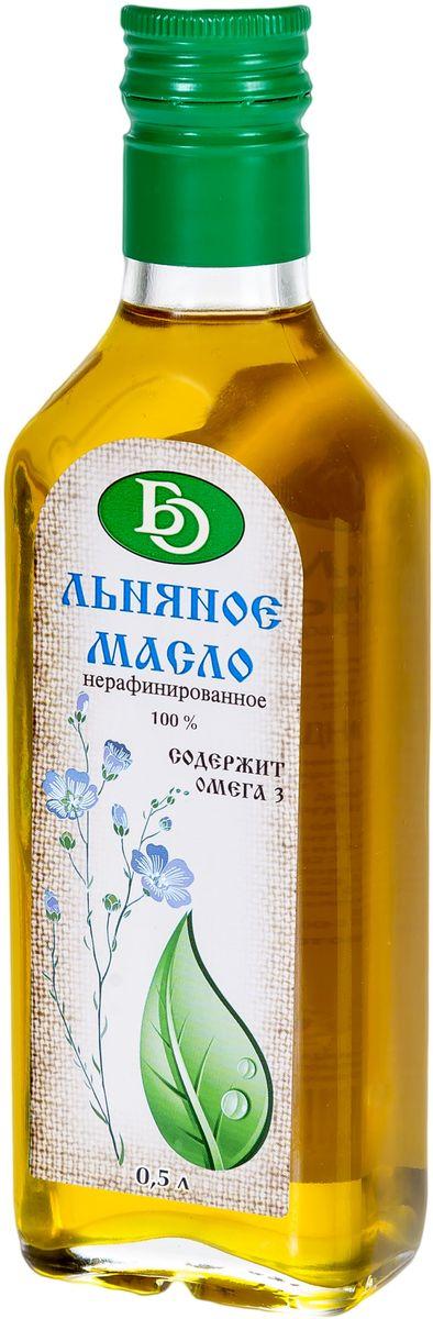 Бизнесойл масло льняное нерафинированное, 500 мл