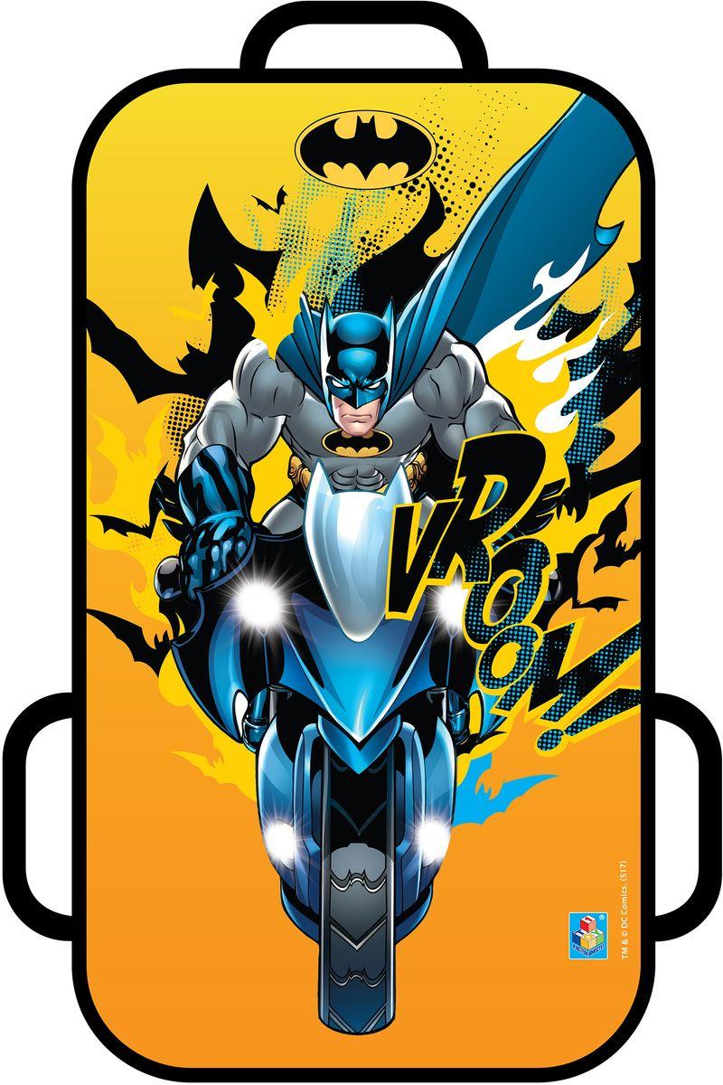 Ледянка 1TOY WB. Бэтмен, цвет: желтый, 72 х 41 смТ104541toy WB Бэтмен, ледянка, 72 х 41 см, прямоугольная