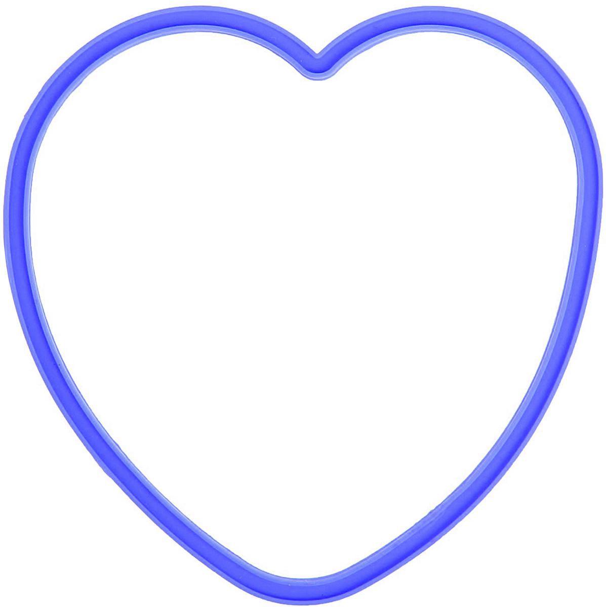 Форма для яичницы и блинов Доляна Любовь, цвет: синий, 12 х 11 см811917Вкусные блины, оладьи, омлеты и яичницы нравятся всем. Сделать хорошо знакомые блюда поводом для кулинарной гордости поможет специальная форма из силикона. Как ей пользоваться? налейте на сковороду масло и поставьте на средний огонь, расположите форму в центре и наполните её тестом или разбейте внутрь яйцо, обжаривайте до готовности. Силикон обладает важными достоинствами: выдерживает температуру от -40 до +230 °C; не обжигает руки при готовке; легко отмывается, в том числе в посудомоечной машине; благодаря высокой гибкости и прочности служит долгое время.