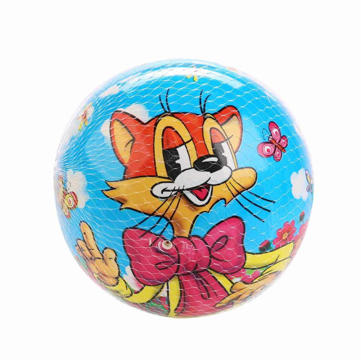 Играем вместе Мяч детский Кот Леопольд
