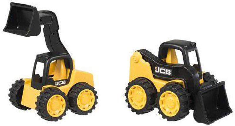 HTI Набор строительной техники JCB экскаватор и мини-погрузчик обувь для зала adidas ace tango 18 3 in jr cp9075