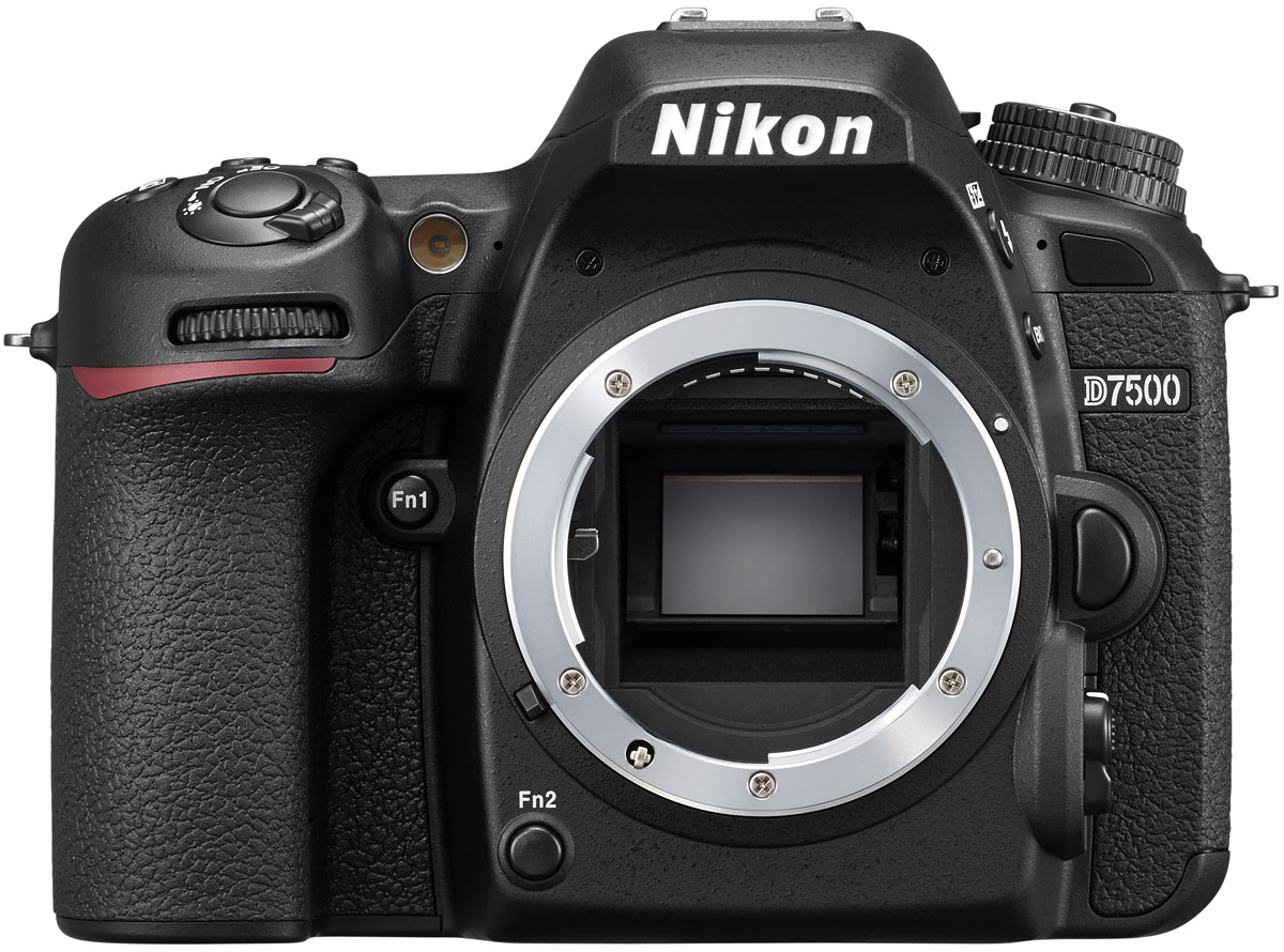 Nikon D7500 Body, Black цифровая зеркальная фотокамераVBA510AEФотокамера D7500 создает четкие изображения с высокой детализацией и богатыми тональными градациями. Вы оцените исключительно точное распознавание объектов съемки и превосходное качество изображения даже при высоких значениях чувствительности ISO. Качество видеороликов в формате 4K/UHD впечатляет.