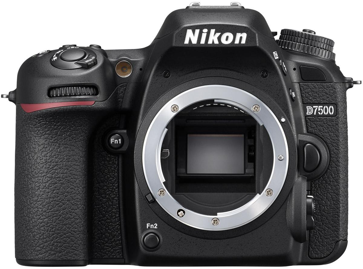 Nikon D7500 Body, Black цифровая зеркальная фотокамера nikon d3x body
