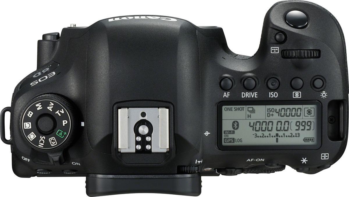 Canon EOS 6D Mark II Body, Blackцифровая зеркальная фотокамера Canon