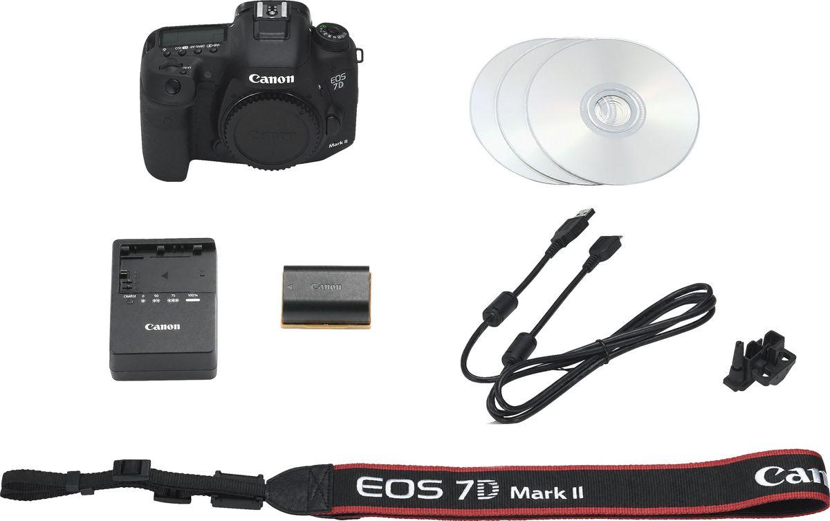 Canon EOS 7D Mark II Body, Blackцифровая зеркальная фотокамера + Wi-Fi адаптер Canon