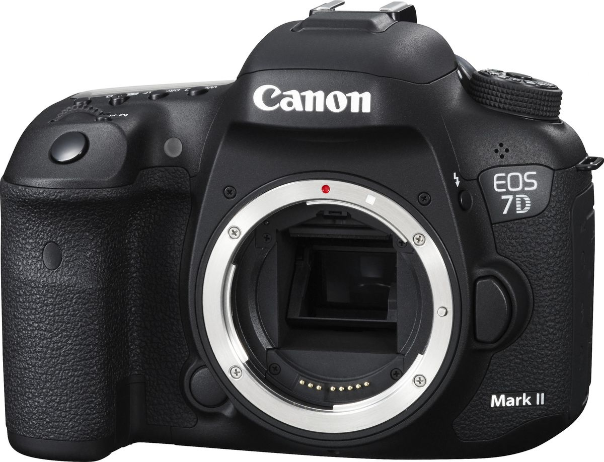 Canon EOS 7D Mark II Body, Black цифровая зеркальная фотокамера фотоаппарат canon eos 200d body silver