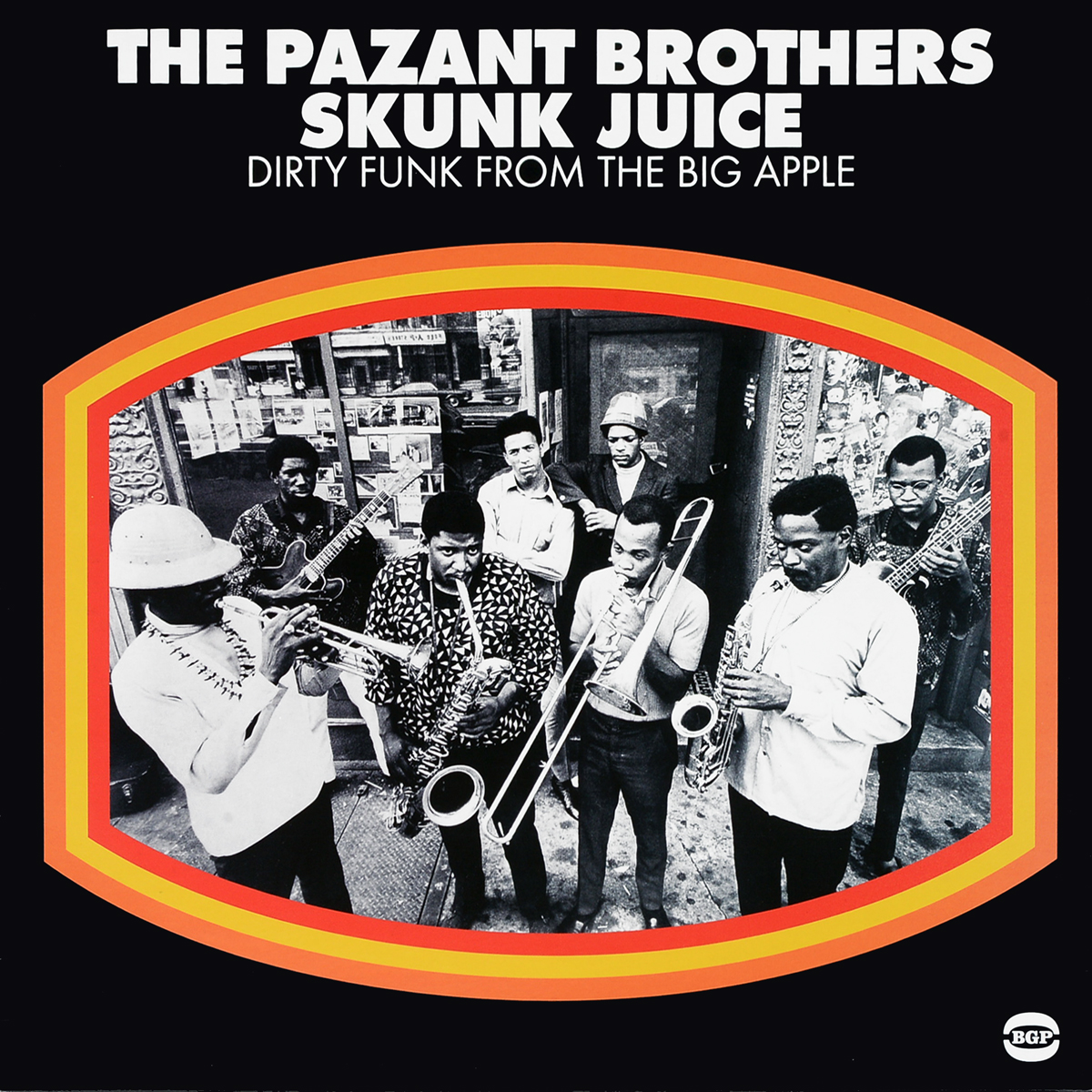 The Pazant Brothers Pazant Brothers. Skunk Juice: Dirty Funk From The Big Apple (LP) fruit crusher portable pulper apple scratter cider wine juice press shredder