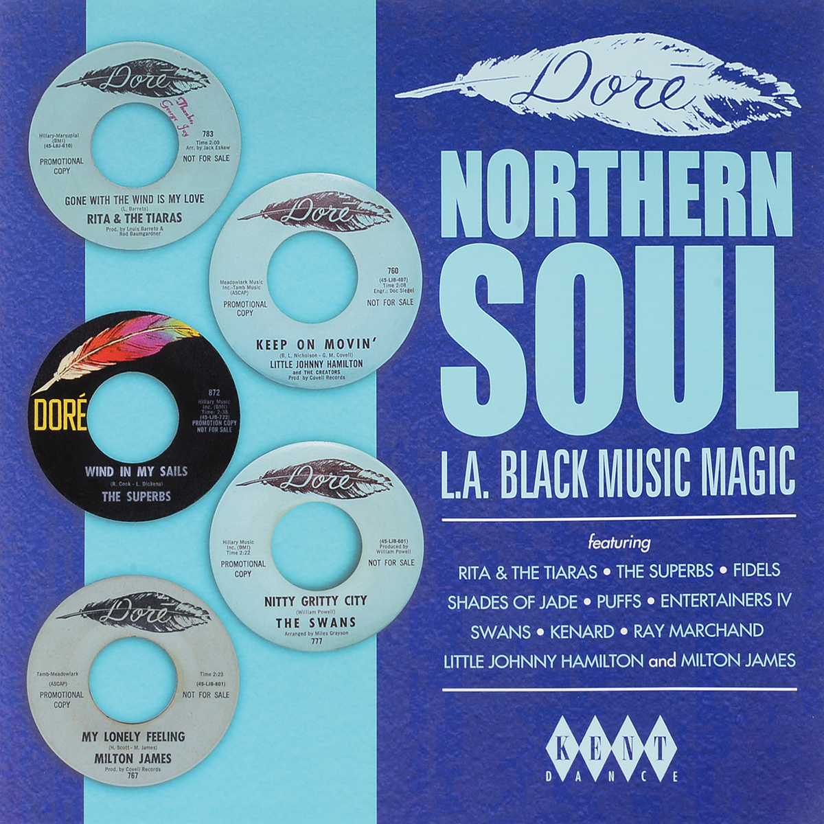 Dore Northern Soul: L.A.Black Music Magic (LP) motor ace motor ace five star laundry 2 lp