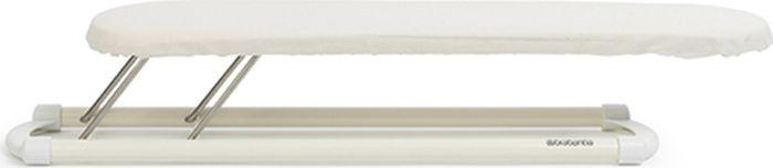 Гладильная доска для рукава Brabantia, цвет: экрю, 60 х 10 см. 102400102400Идеальное решение для утюжки рукавов блузок, рубашек и т.п. Пропускающая пар металлическая поверхность с упругим слоем поролона обеспечивает безопасное и комфортное использование с паровой системой. Противоскользящие колпачки обеспечивают отличную устойчивость. • Идеальное решение для утюжки рукавов блузок, рубашек и т.п. • Устойчивая плоская поверхность обеспечивает превосходное качество и удобство глажения. • Сверхпрочный хлопковый чехол с упругим слоем поролона и эластичным шнуром. • Защитные противоскользящие колпачки обеспечивают отличную устойчивость. • Складная конструкция с крючком для подвешивания, обеспечивает удобство в переноске и хранении.