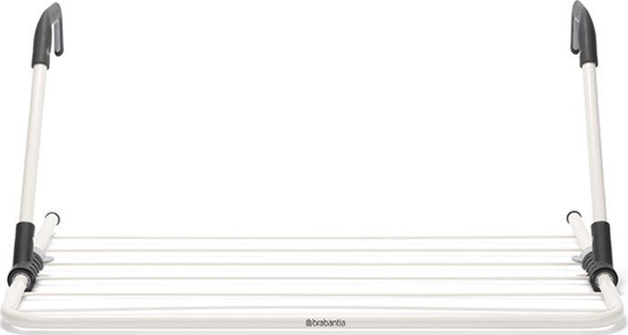 Сушилка для белья Brabantia, надверная, цвет: слоновая кость, 4,5 м. 102769