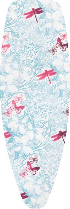 Чехол для гладильной доски Brabantia Perfect Fit, 2 мм, цвет: ботанический сад, 135 х 45 см. 111662 чехол для iphone 6 глянцевый printio сад на улице корто сад на монмартре ренуар