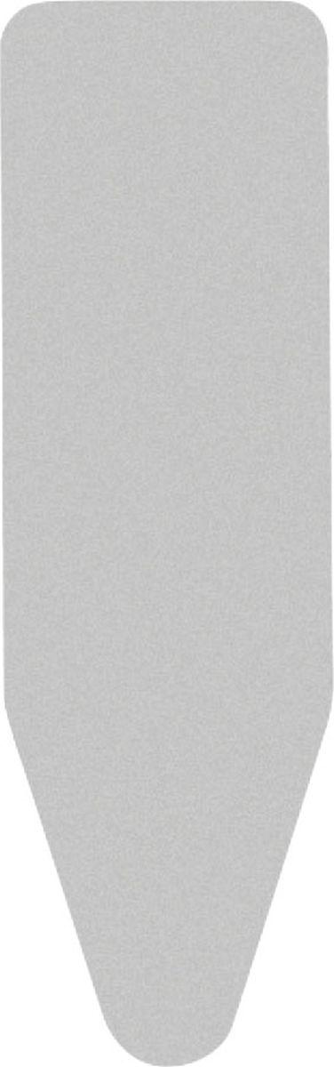 Чехол для гладильной доски Brabantia Perfect Fit, 2 мм, цвет: металлизированный, 110 х 30 см. 216800216800Все чехлы Brabantia поставляются с биркой, на которой нанесена цветовая маркировка, позволяющая Вам быстро и точно подобрать в магазине нужный сменный чехол для своей гладильной доски. • Идеальная рабочая поверхность для глажения и отпаривания. • Длительный срок службы и плавное скольжение утюга – верхний чехол из 100% хлопка. • Удобная фиксация на доске и отличное натяжение чехла – затягивающий шнур и система натяжения Stretch-System.