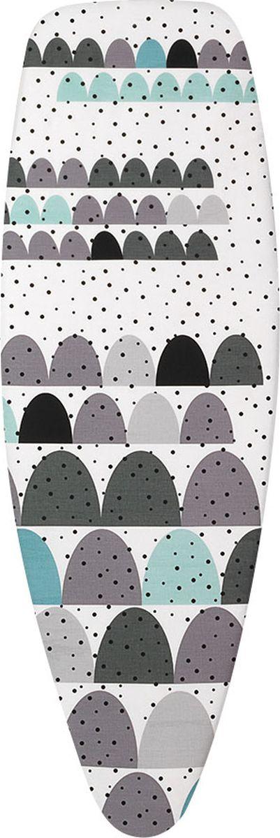 """Чехол для гладильной доски Brabantia """"Perfect Fit"""", 2 мм, цвет: дюны, 135 х 45 см. 252266"""