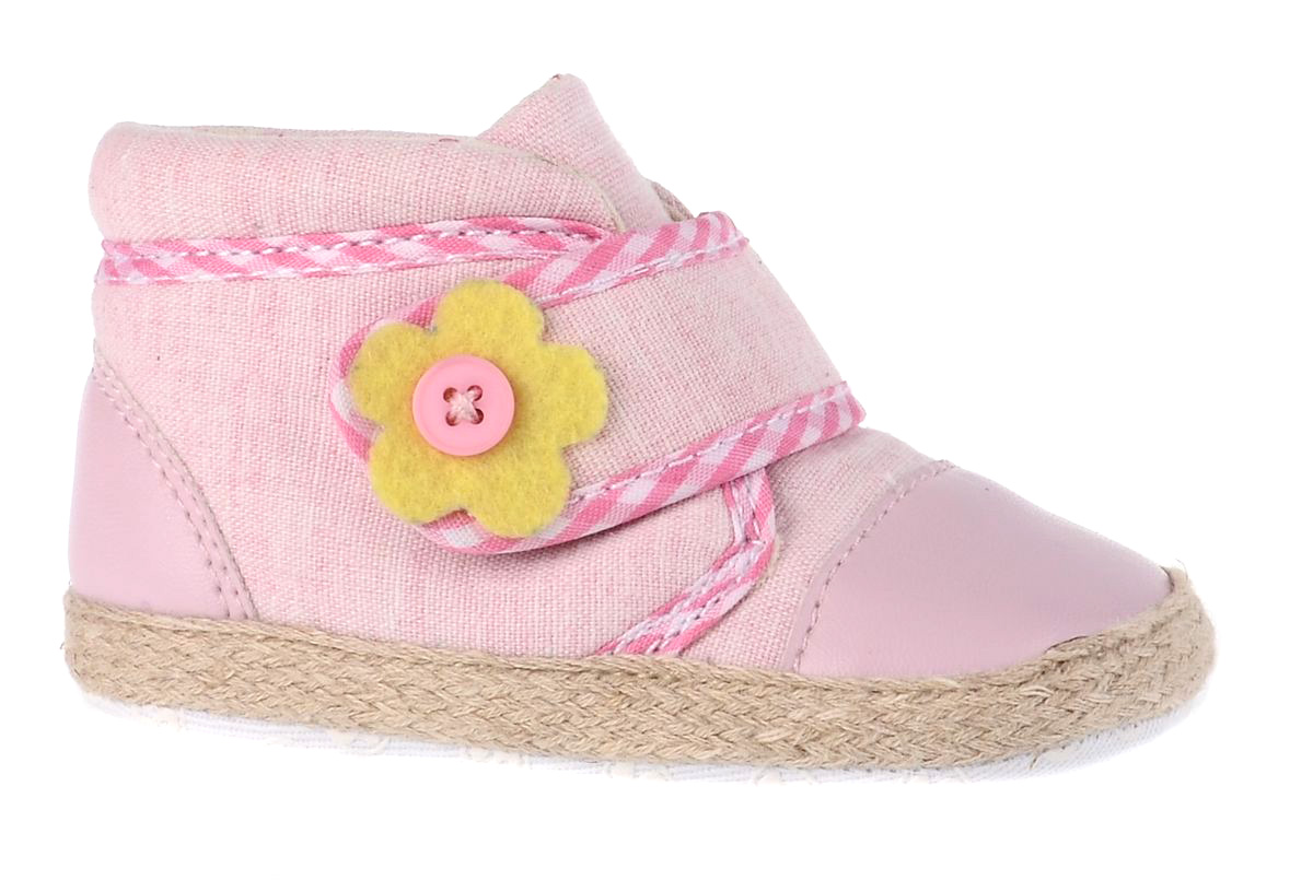 Пинетки детские Flamingo, цвет: розовый. 71Y-YXL-0079. Размер 19 flamingo обувь детская отзывы