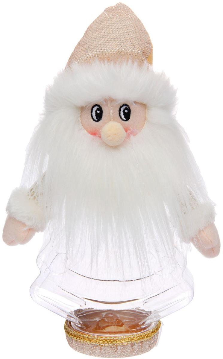 Конфетница Sima-land Дед Мороз - мохнатая борода, вместимость 320 г1050204Нарядная банка-конфетница Sima-land изготовлена из сочетания текстиля и пластика. Яркий символичный персонаж на передней стороне изделия создаст новогоднее настроение. Креативная упаковка сделает ваш презент особенным и самым запоминающимся.Вместительность: 320 г.