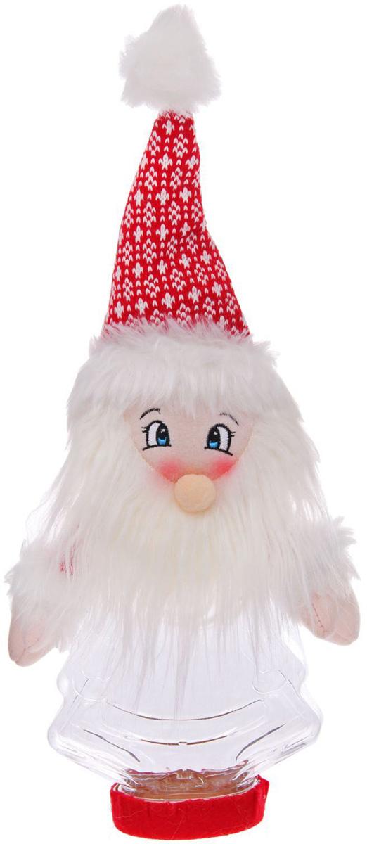 Конфетница Sima-land Дедушка Мороз в ярком колпаке, вместимость 320 г sima land антистрессовая игрушка заяц хрустик 05 цвет красный
